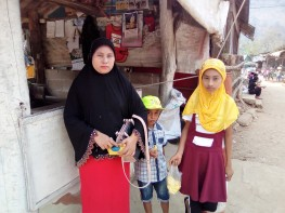 36 A Family of Ethnic Karen Muslims-Most Karens Are Christians Though, However, the Muslims Are Fast Decreasing 20180402@100548.jpg
