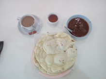 Breakfast on Roti (Burmese Ethnic Way) 20180401@091246.jpg