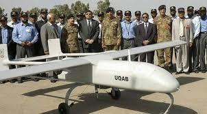 Pakistani Drone Shot Down